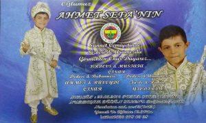 Ahmet SEFA '' Allah bahtını ve geleceğini açık etsin ''